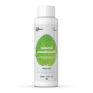 Bain de bouche naturel menthe 500 ml The Humble Co