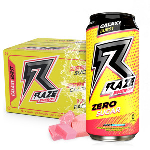 12 Raze Energy Galaxy Burst 473 ml