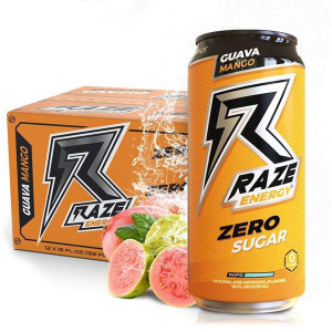 12 Raze Energy Guava Mango 473ml