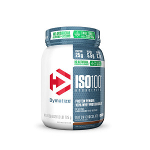 ISO 100 725 g DYMATIZE- Chocolat Hollandais Naturel