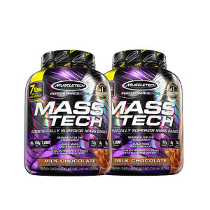Pack de 2 Mass Tech 3,2Kg Muscletech