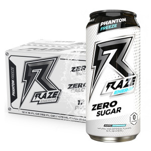 12 Raze Energy Phantom Freeze 473 ml