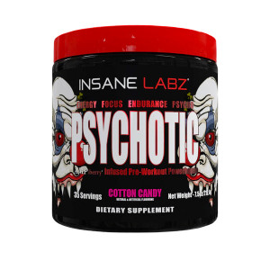 Psychotic Preworkout 35 serv 220g Insane Labz