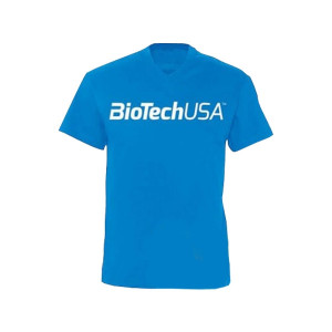 T Shirt Bleu Tropical Biotech Usa