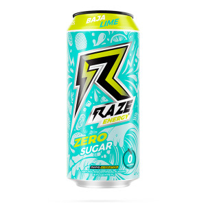 Raze Energy Baja Lime 473 ml