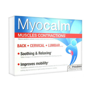 Myocalm contractions musculaires 30 caps  3C Pharma