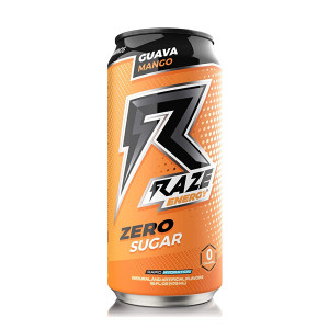 Raze Energy Guava Mango 473ml