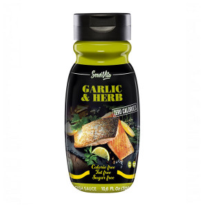 Sauce Garlic Herbs 0 Calories Servivita